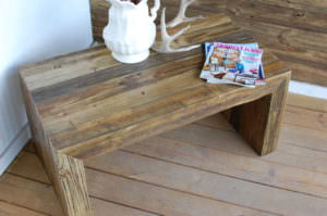 Hudson Wood Coffee Table