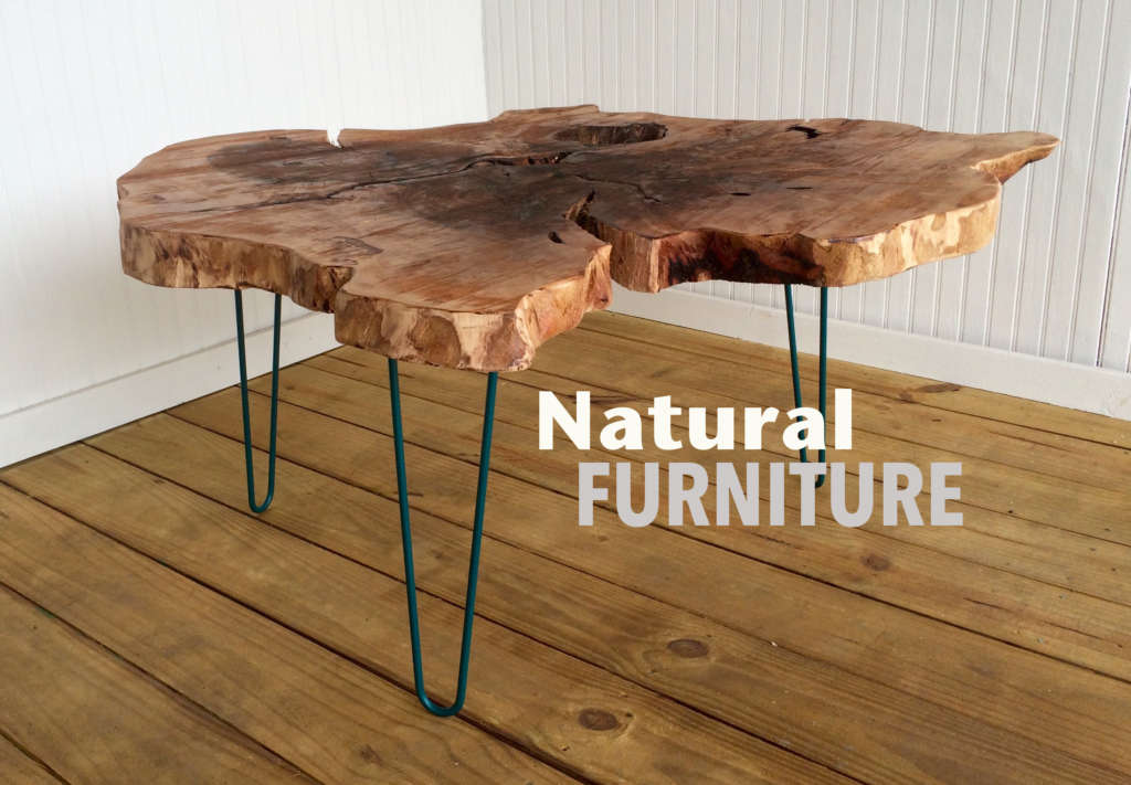 Live Edge Wood Coffee & Side Tables
