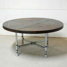 Rachela Industrial Pipe Table