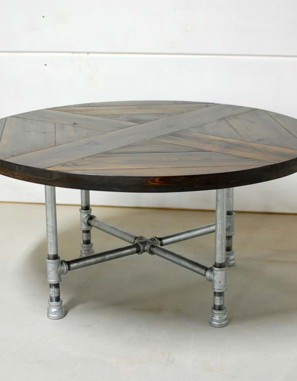 Rachela Industrial Pipe Table