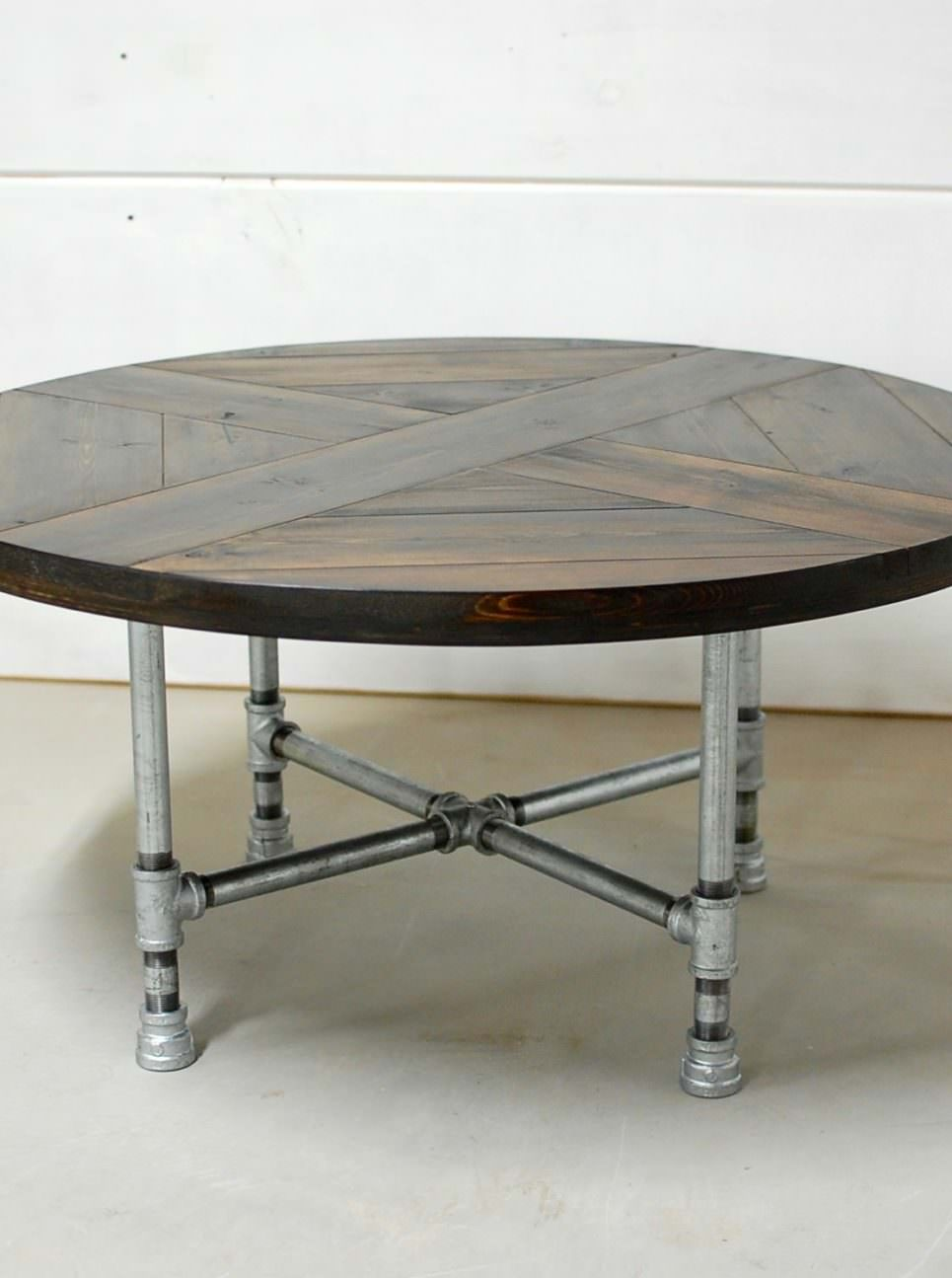 Rachela Industrial Pipe Table. Rachela Industrial Coffee Table