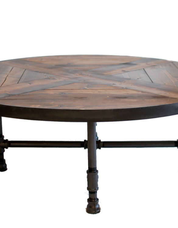Rachela Industrial Coffee Table
