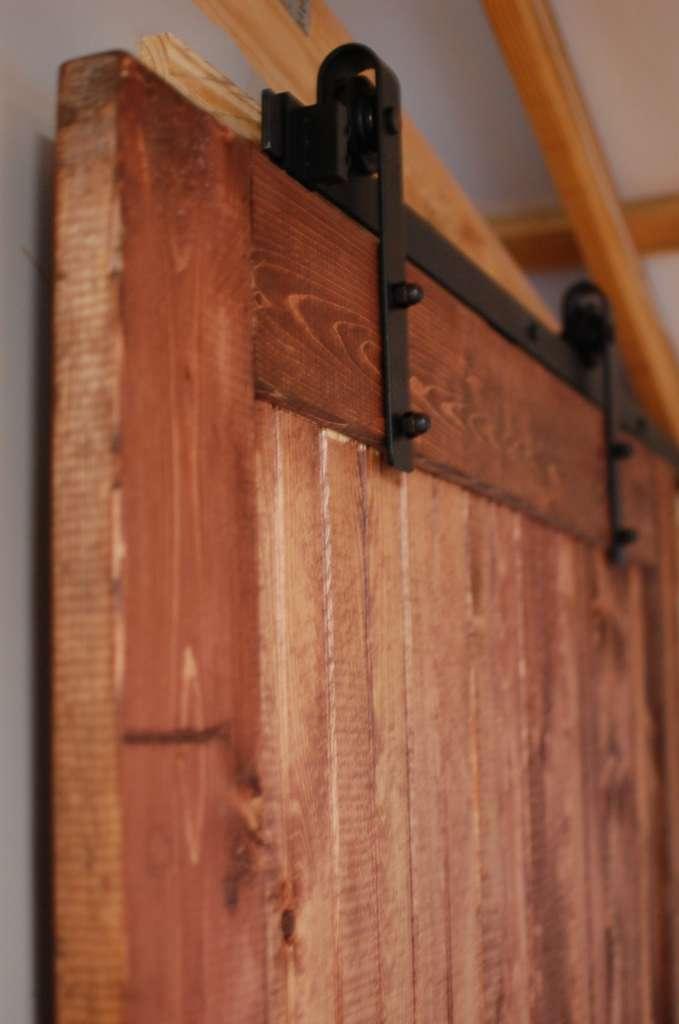 Rustic Ranch Style Interior Barn Door Southern Sunshine