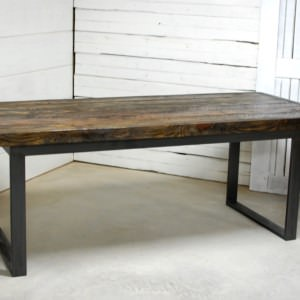 Alamo Wood Dining Table