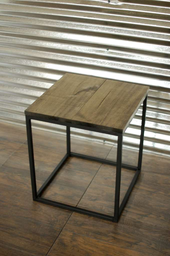 Modern Wood Side Table ~ Chase modern wood side end table southern sunshine