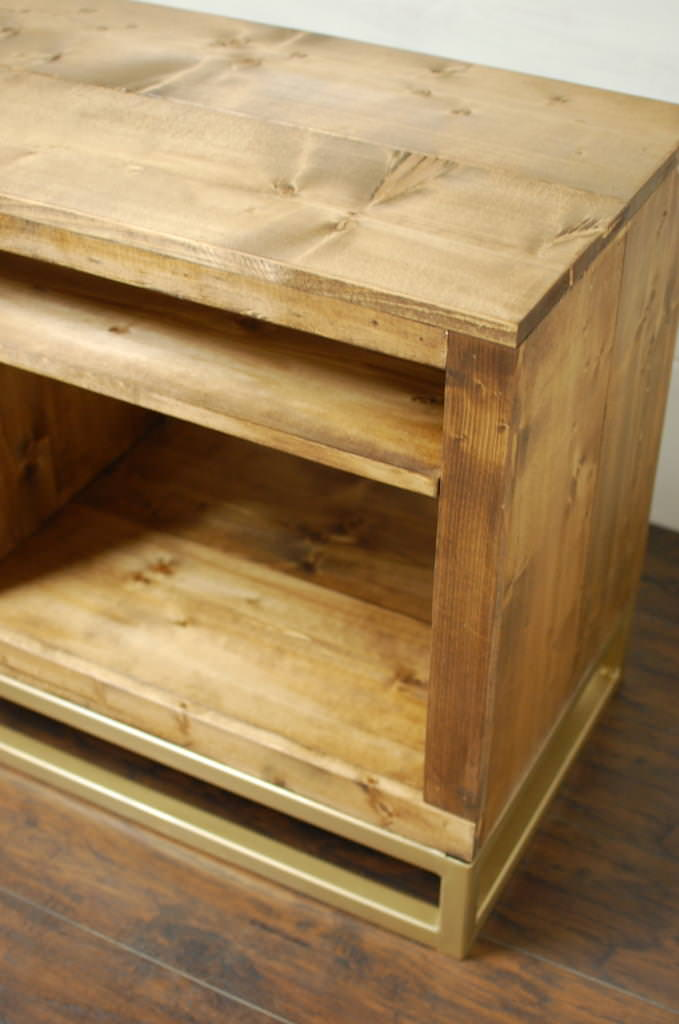 Hampton Media Console Table