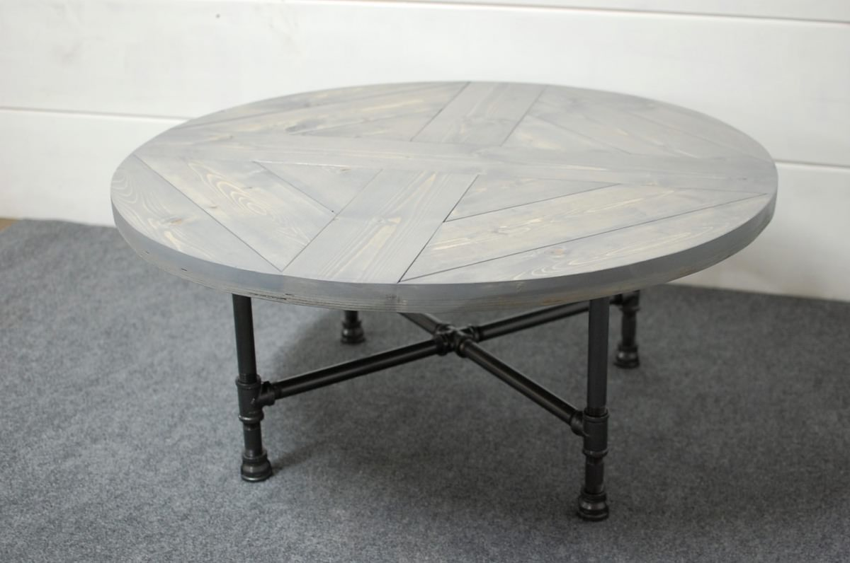 Rachela Industrial Pipe Coffee Table • Southern Sunshine