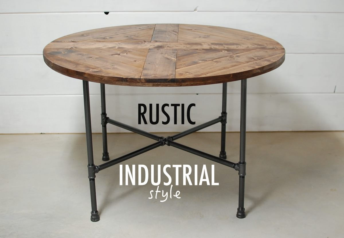 industrial rustic furniture southern sunshine
