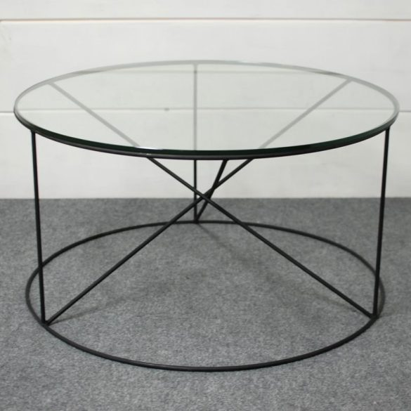 Calypso Round Glass Coffee Table