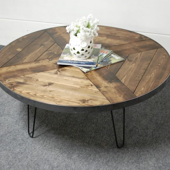 Jerico Hairpin Coffee Table