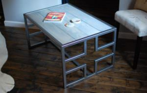 Justice Wood Coffee Table