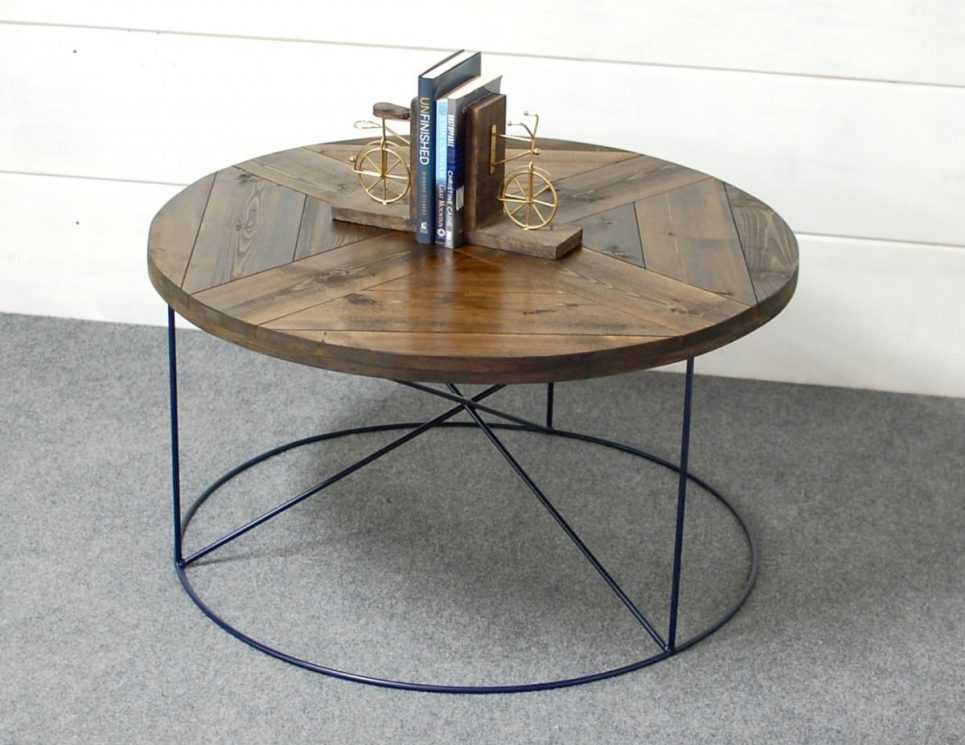 Calypso Round Wood Coffee Table
