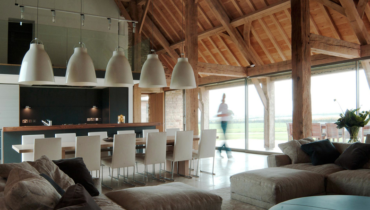 Salvaged Barns Converted to Guest Houses and Stunning Homes