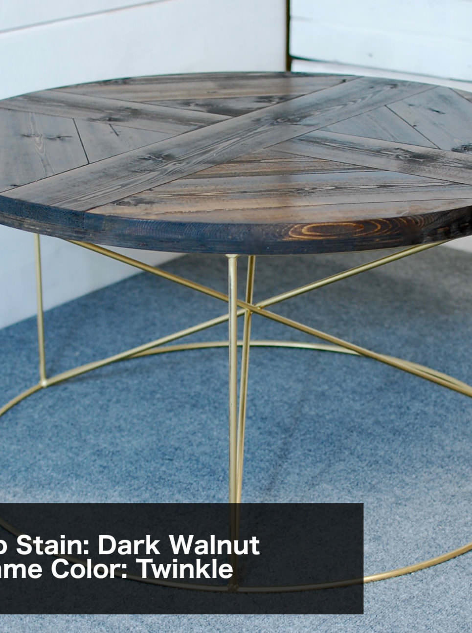 Rachela Starburst Coffee Table