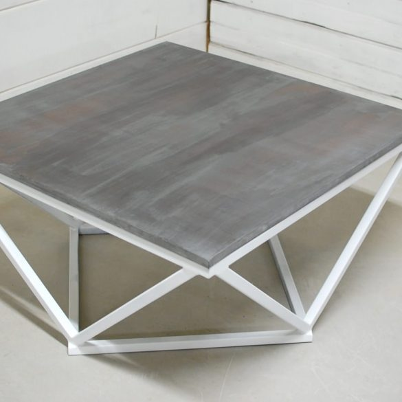 Boone Copper Patina Zinc Coffee Table