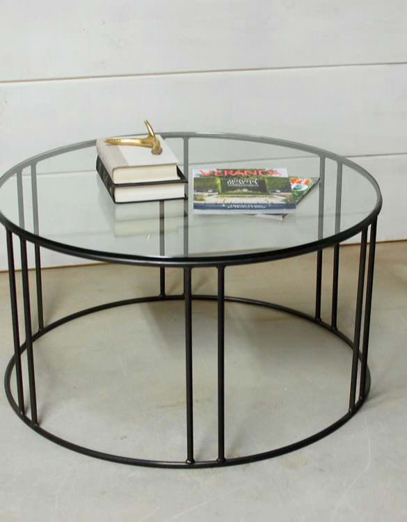 Legend Round Glass Table