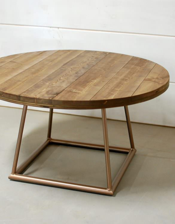 Falabella Coffee Table with Modern Base