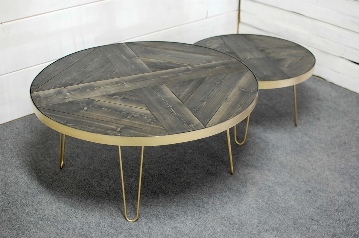 Mid Century Nesting Coffee Tables Southern Sunshine