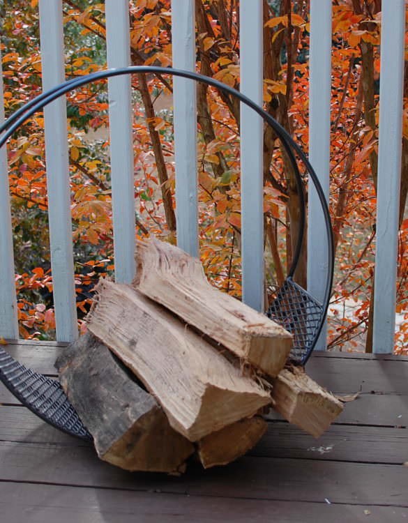 Steel Firewood Log Rack