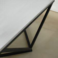 Boone Zinc Top Coffee Table