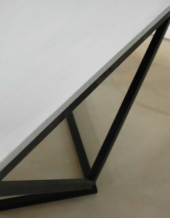Boone Zinc Top Coffee Table