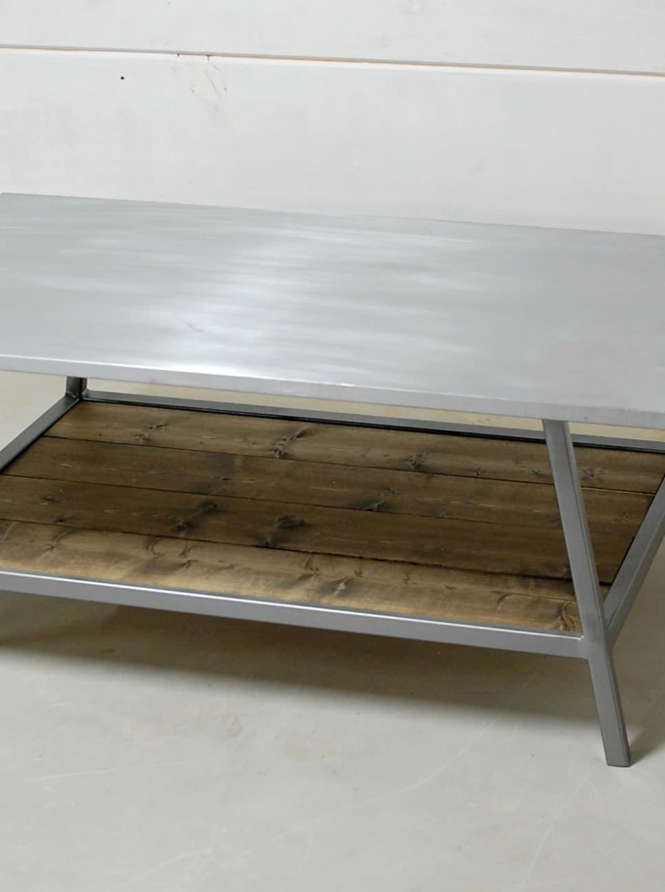 Chesapeake Zinc Coffee Table