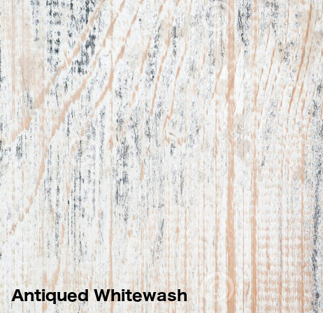 Antiqued Whitewash