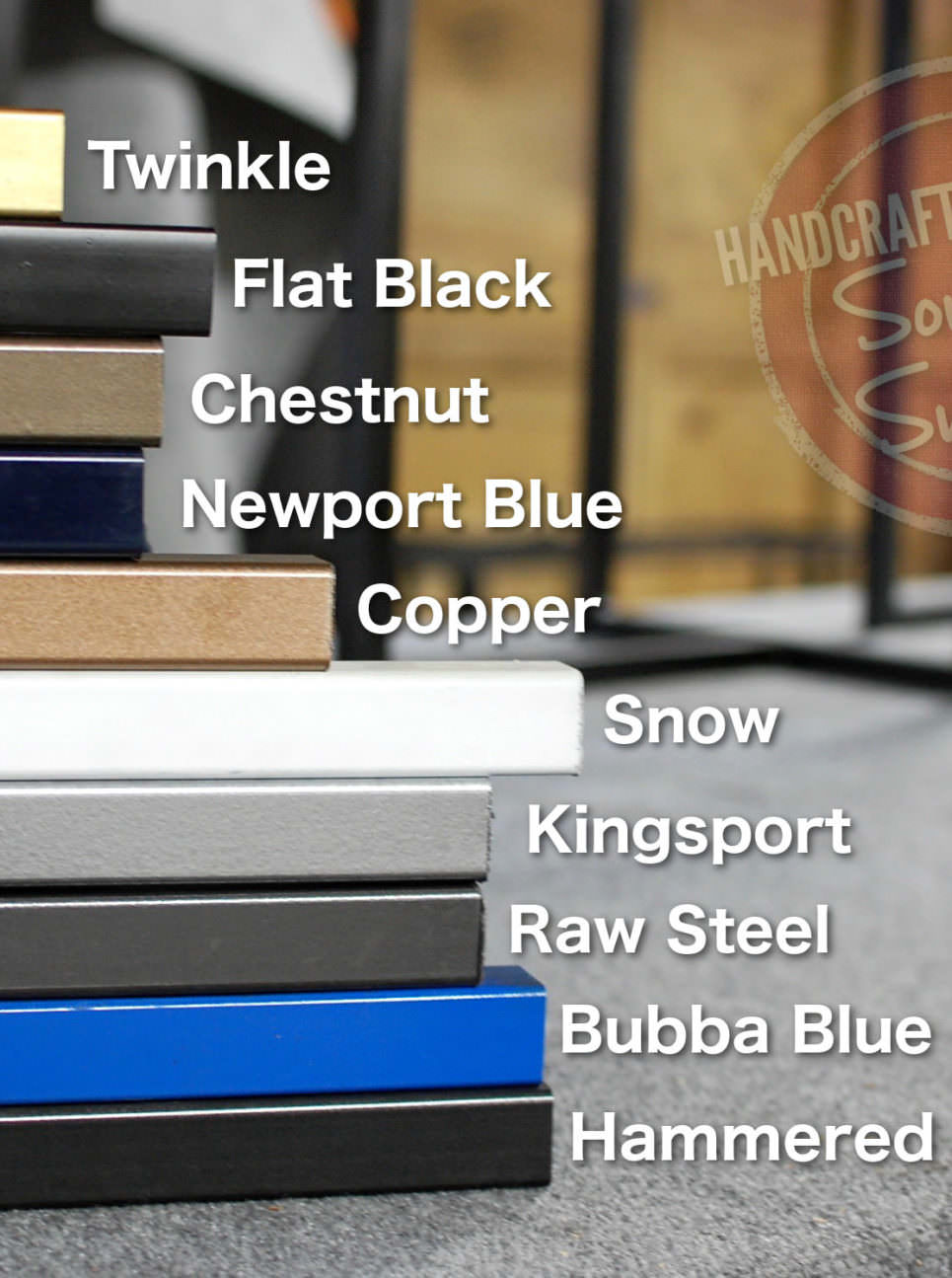 Steel Color Options
