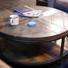 Calloway Shelf Coffee Table