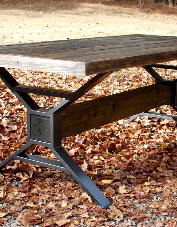 Gatlinburg Industrial Dining Table