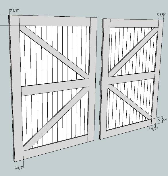 Canyon Double Sliding Barn Doors