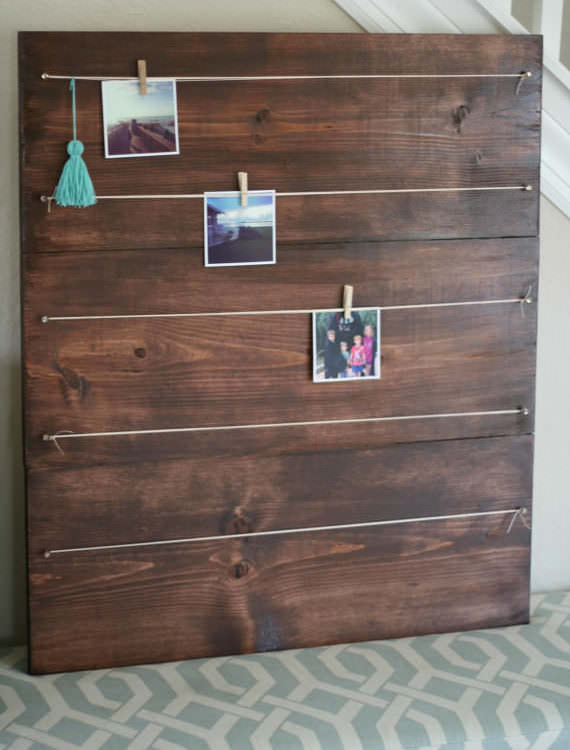 Wood Photo + Display Board
