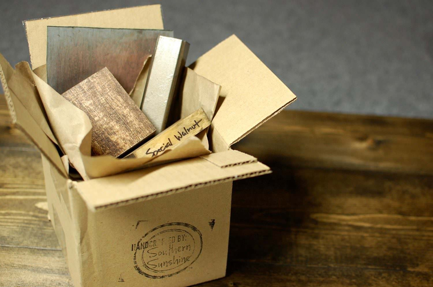Wood Stain And Metal Sample Kit Southern Sunshine