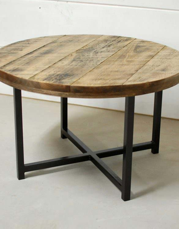 Porter Round Wood Coffee Table