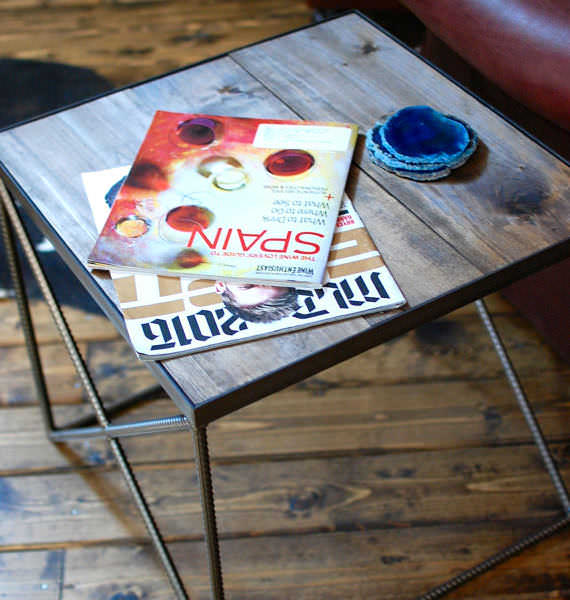 Beale Industrial Side Table