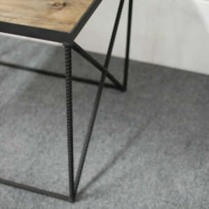 Beale Industrial End Table