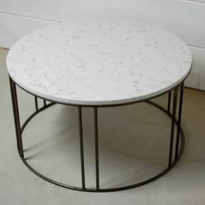Legend Marble Round Coffee Table