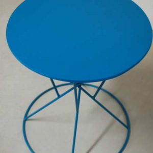 Lido Round Metal Table