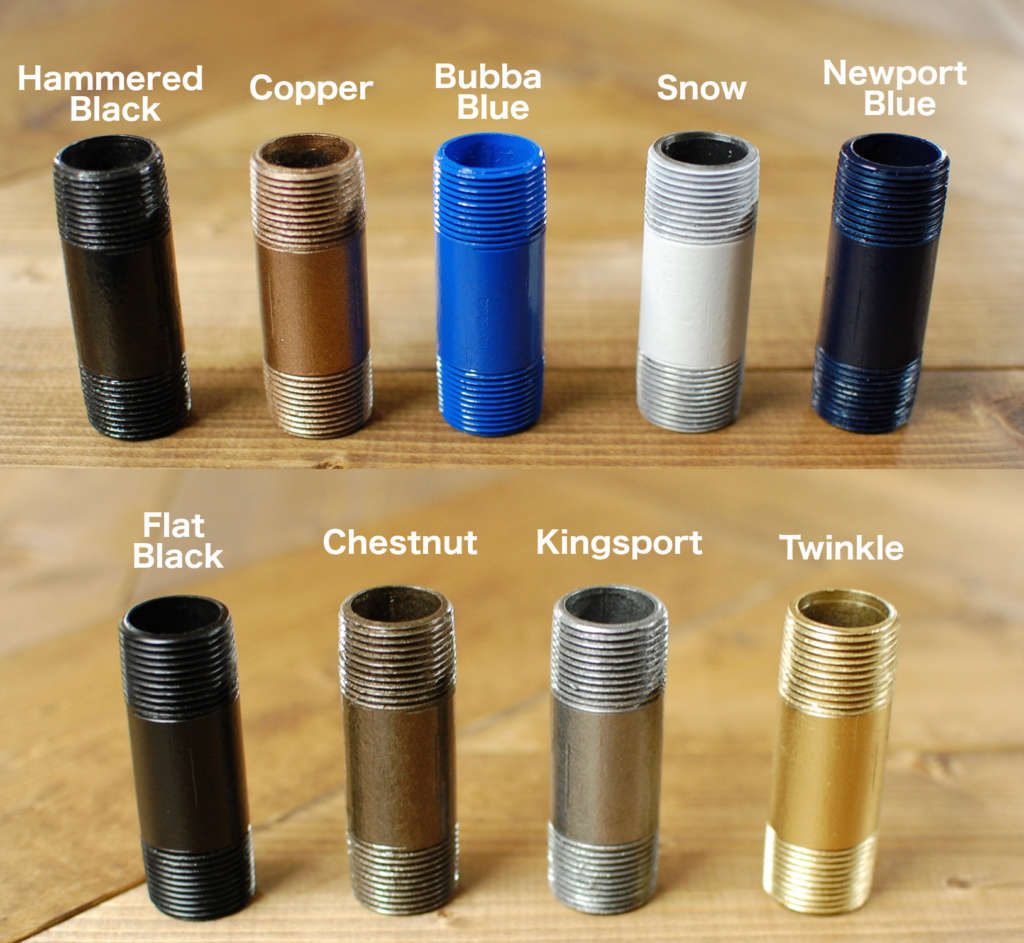 Industrial Pipe Color Options