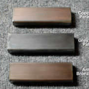 Steel Patina Options