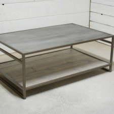 Attica 2 Tier Zinc Coffee Table