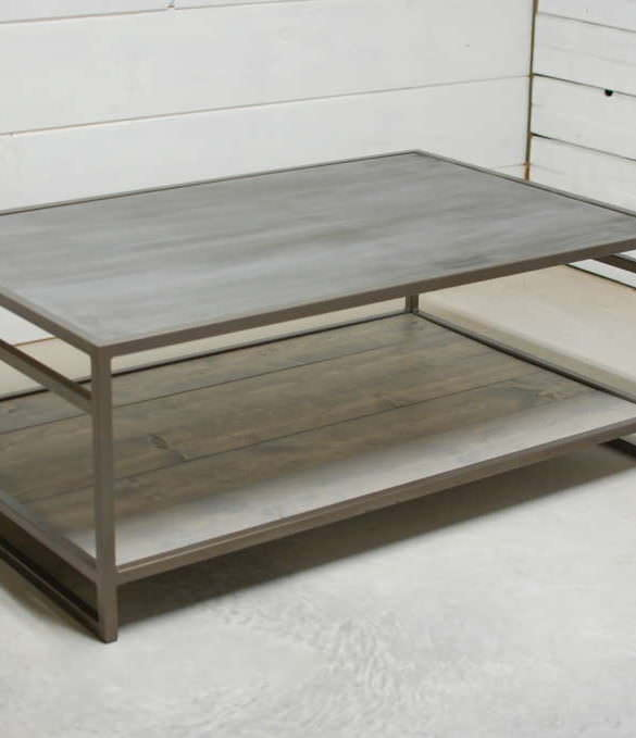 Attica 2 Tier Zinc Coffee Table