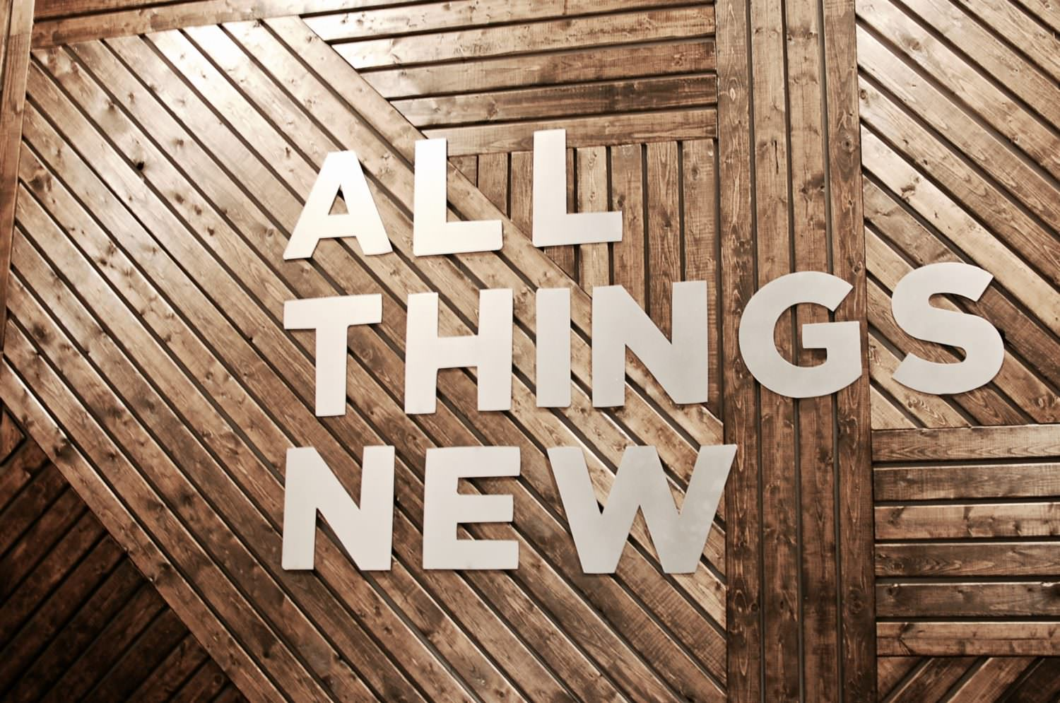 Modern Wall - All Things New