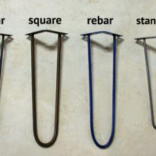 Hairpin Leg Options