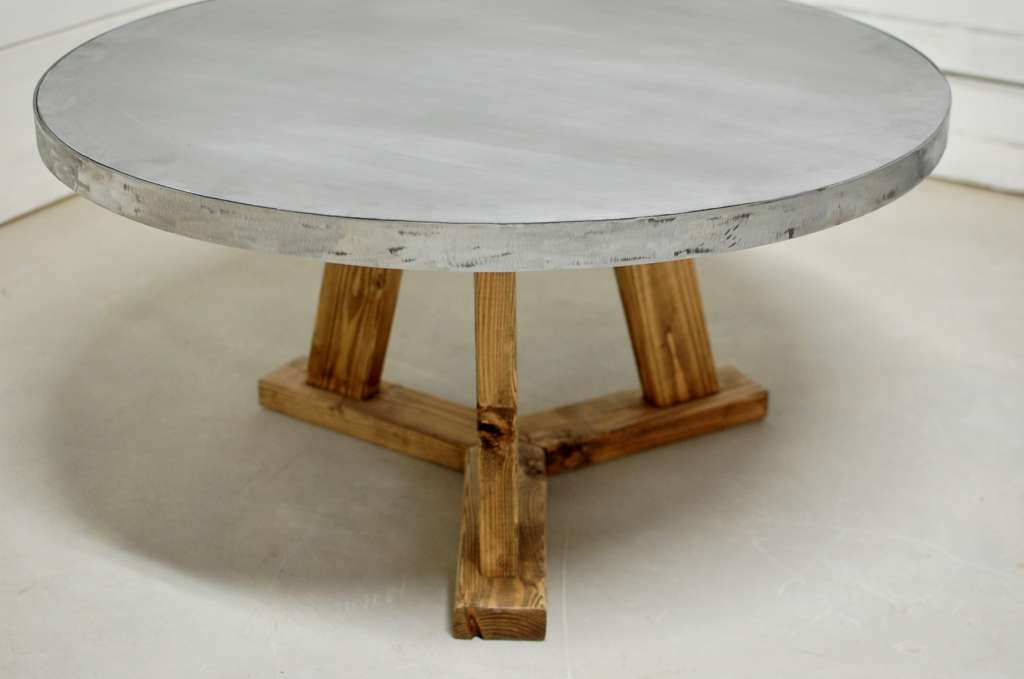 Zinc Coffee Tables Dining Tables And Side Tables Southern Sunshine