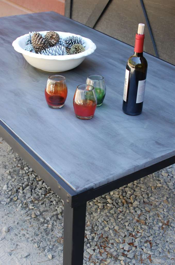zinc round and square table tops • southern sunshine