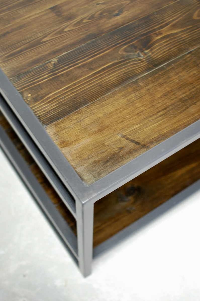 Attica 2 Tier Wood Coffee Table Southern Sunshine