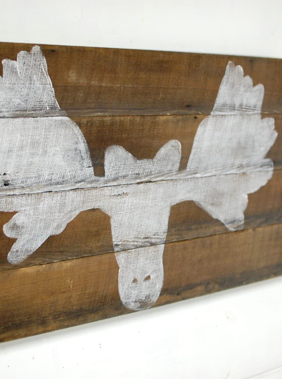 Moose Wall Decor wood moose wall decor • southern sunshine