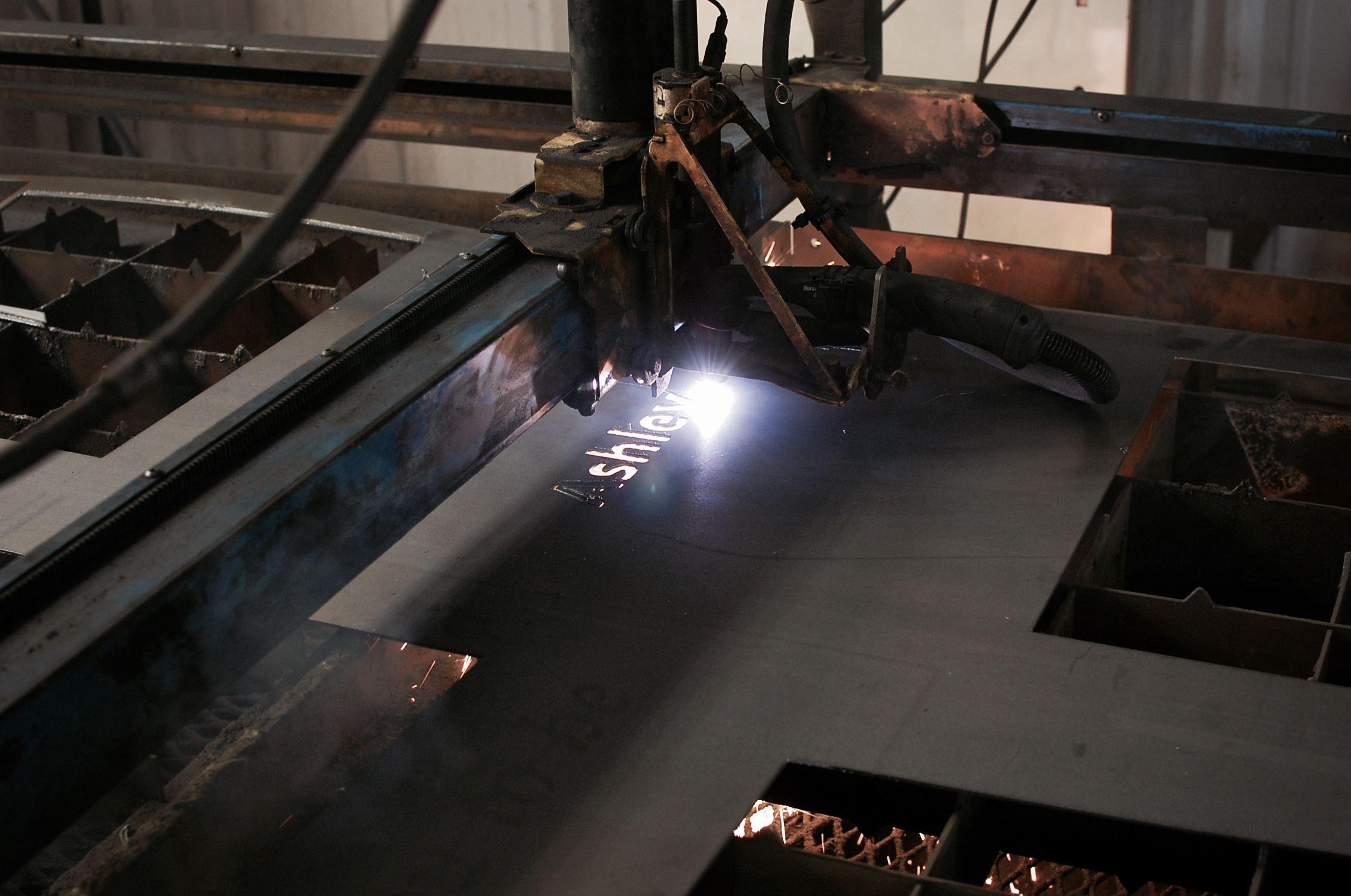 Custom Plasma Cut Metal Signs