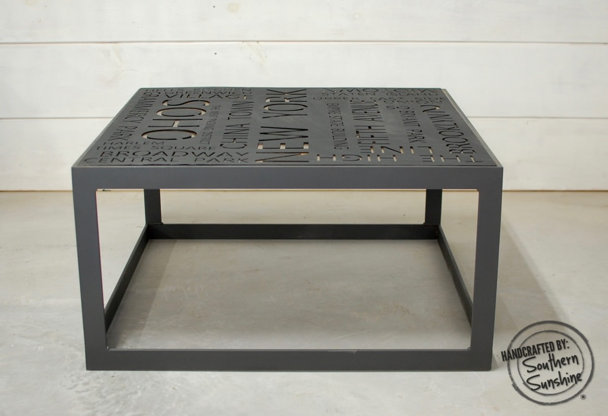 Maximus Urban Industrial Coffee Table • Southern Sunshine